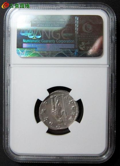 古罗马帝国戈尔迪安三世安全女神银币