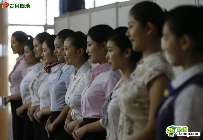东航招空姐 美女美丽 冻 人图片
