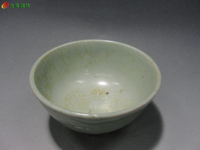 元龙泉青瓷对碗
