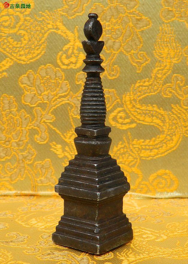 西藏佛塔 舍利塔|佛像铜器杂件(正式会员)