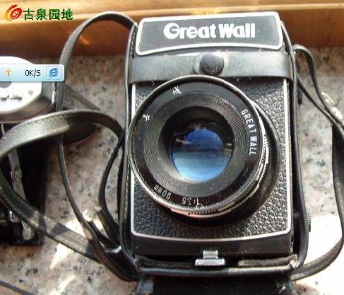 从倒闭的老照相馆那弄来的绝品老相机