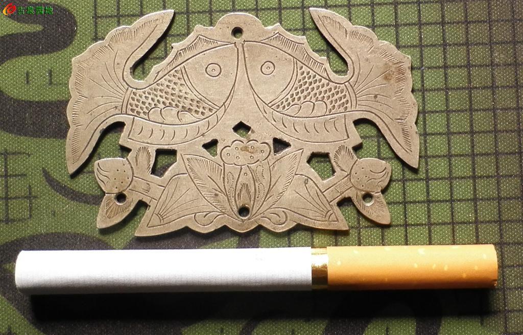 白铜双鱼牌子漂亮