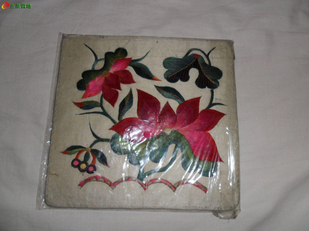 刺绣枕头顶一些 五图片