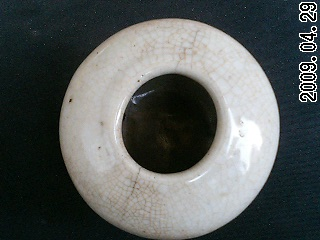 清仿哥窑开片水盂 历代陶器瓷器