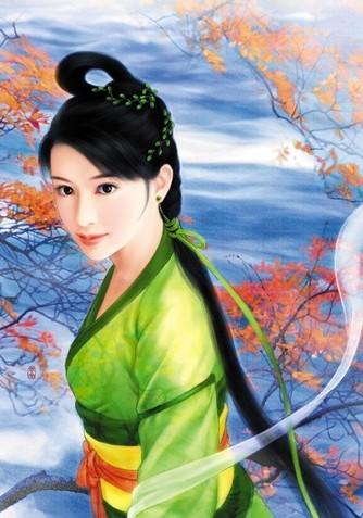 闲情逸致 (手绘)中国古代美女  853阅读 26回复 (手绘)中国古代美女