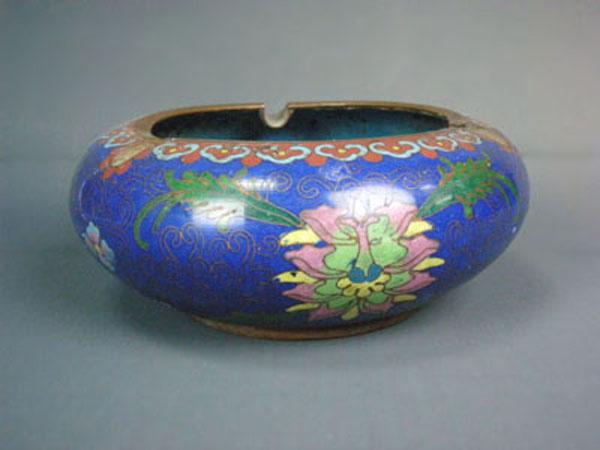 民国 景泰蓝烟盒 碗
