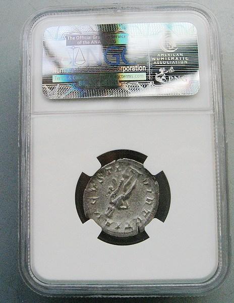 级古罗马银币 戈尔迪安三世 大力神 凝绿轩古希腊罗马币