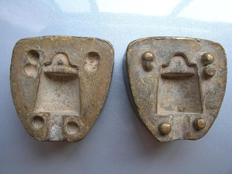 秤砣的铜模具